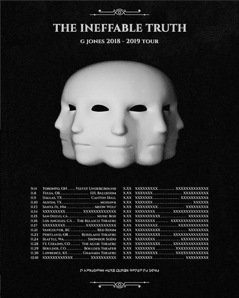 G Jones Tour