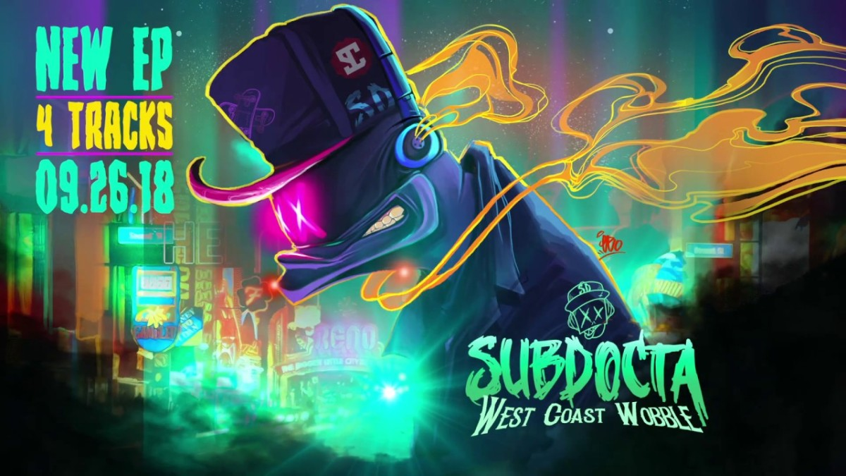 "SubDocta Releases His ""West Coast Wobble"" EP -- Serious Heat, Do Not Touch"