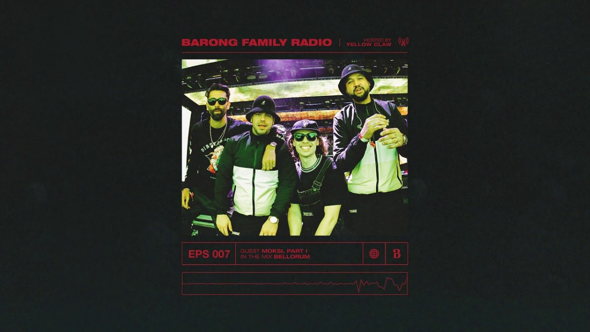 New Barong Family Radio Mix From Moksi!