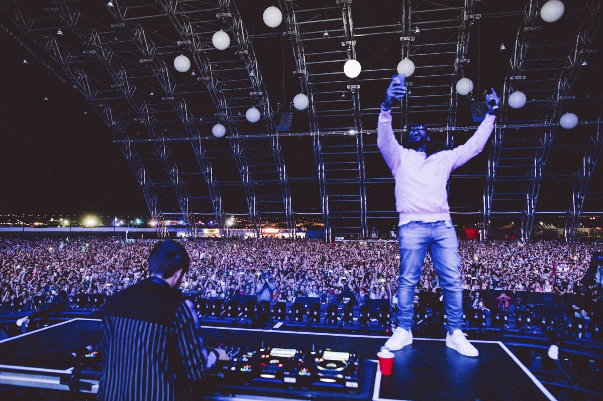 "NGHTMRE Brings Out A$AP Ferg & Lil Jon For his Sahara Tent Performance, Presents ""The Orb"" Stage Design (+Video Interview)"
